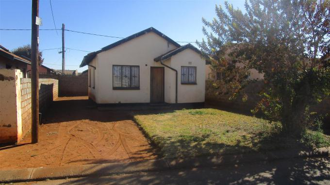 Standard Bank EasySell 2 Bedroom House for Sale in Soweto - MR316313