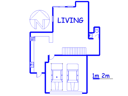 Floor plan of the property in Brummeria