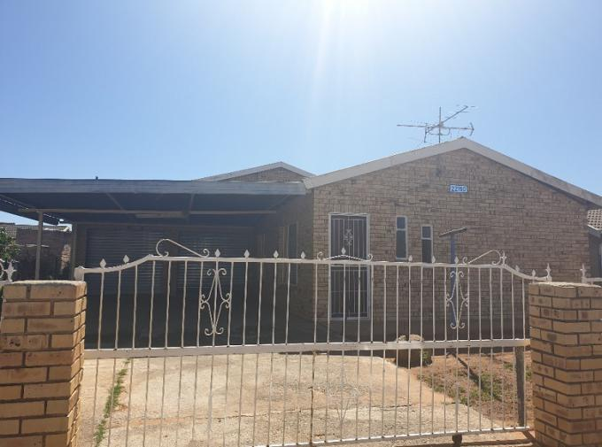 FNB SIE Sale In Execution 3 Bedroom House for Sale in Thabong - MR349933