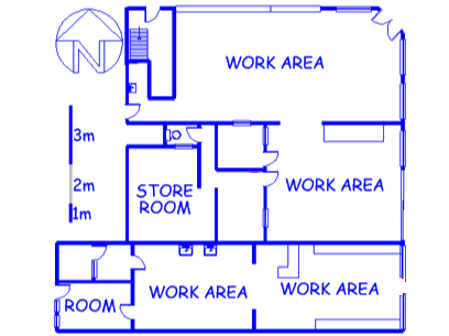 Floor plan of the property in Brooklyn - Ct