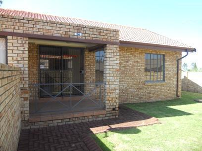 Standard Bank Repossessed 2 Bedroom Apartment for Sale on online auction in Meyerton - MR37513