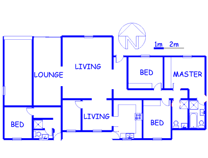 Floor plan of the property in Westering