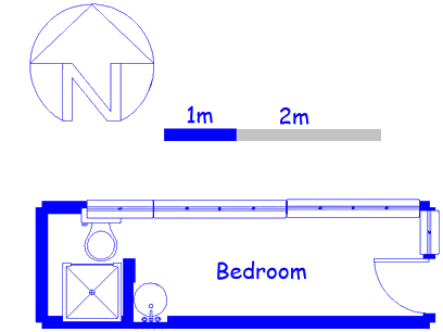 Floor plan of the property in Westridge
