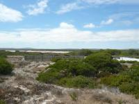 Backyard of property in Yzerfontein