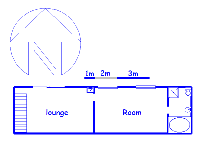 Floor plan of the property in Wentworth