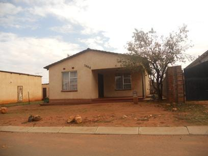Standard Bank Repossessed 3 Bedroom House for Sale on online auction in Katlehong - MR44456