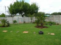 Backyard of property in Booysens