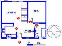 2 Bedroom 1 Bathroom in Moreletapark
