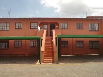 2 Bedroom Apartment for Sale For Sale in Randfontein - Private Sale - MR54294