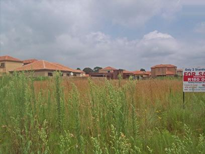 Standard Bank Repossessed Land for Sale on online auction in Brakpan - MR65440