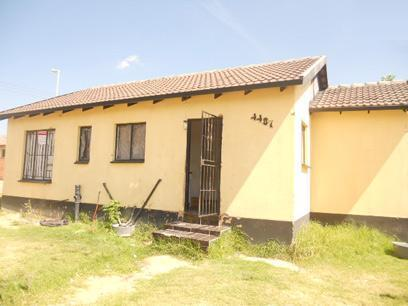 Standard Bank Mandated 3 Bedroom House for Sale For Sale in Kaalfontein - MR67503